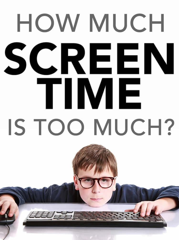 How Much Screen Time is TOO Much?