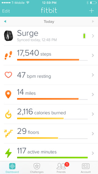 fitbit app for iphone fitbit charge review 5072