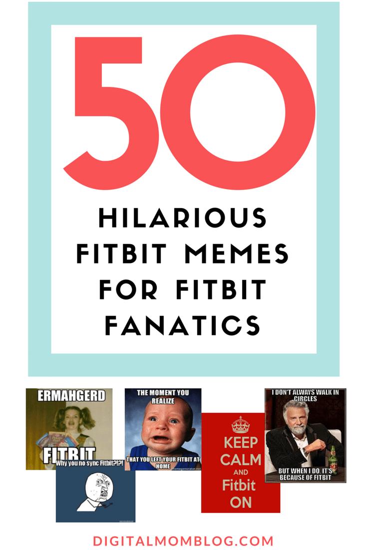 50 HILARIOUS FITBIT MEMES