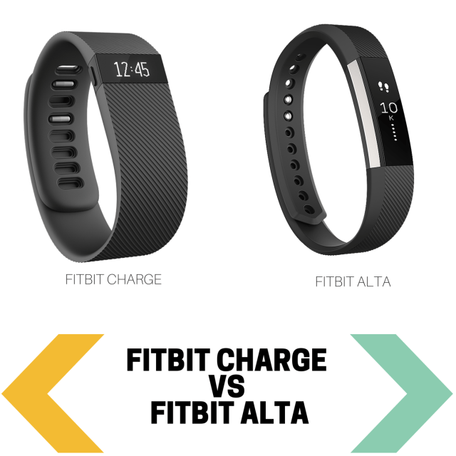 FITBIT CHARGE VS FITBIT ALTA