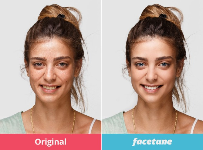 Facetune App Before and After Photos