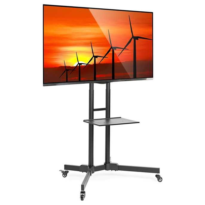 TV Cart featuring led tv