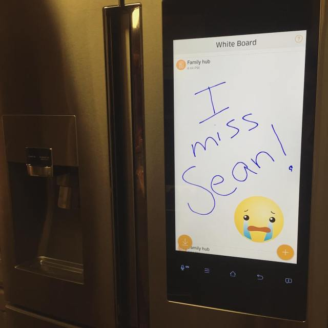 Samsung Hub Smart Refrigerator