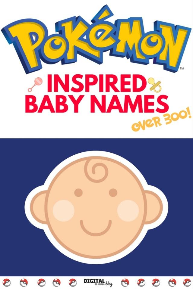 pokemon baby name ideas
