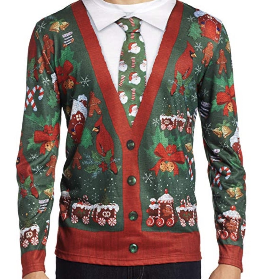 christmas suit shirt