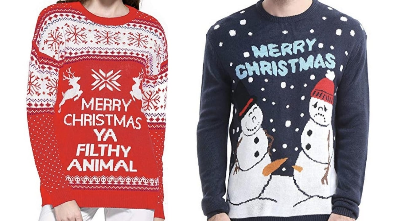 c49298ed Ugly Christmas Sweaters & Inappropriate Christmas Sweaters
