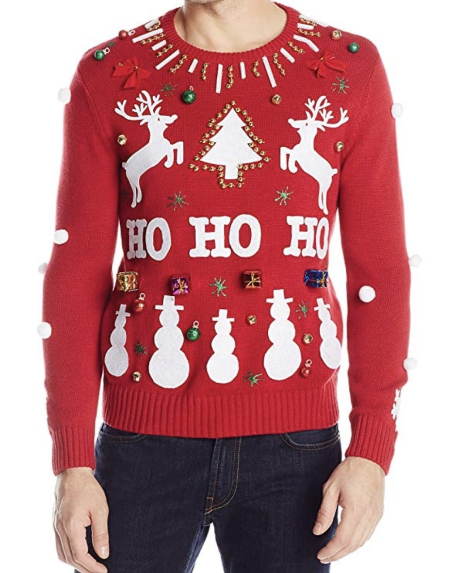 ho ho ho christmas sweater
