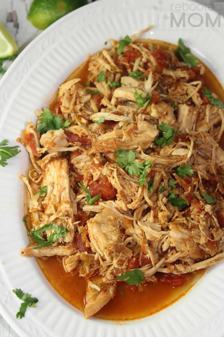 Best Mexican Instant Pot Recipes - Shredded Chicken