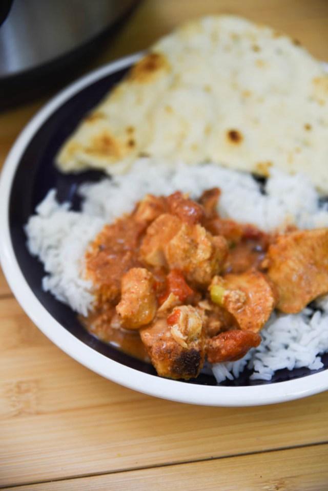 Chicken Tikka Masala Instant Pot Indian Recipe