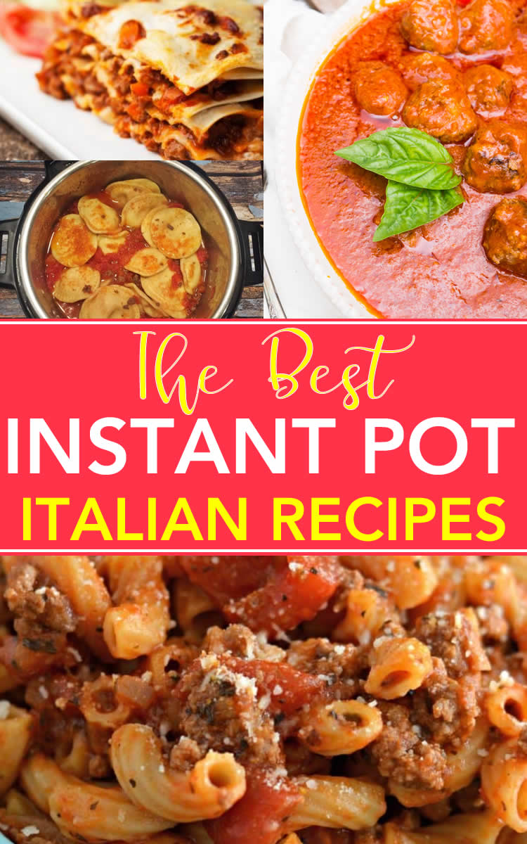 Instant Pot Italian Recipes That Will Have You Saying