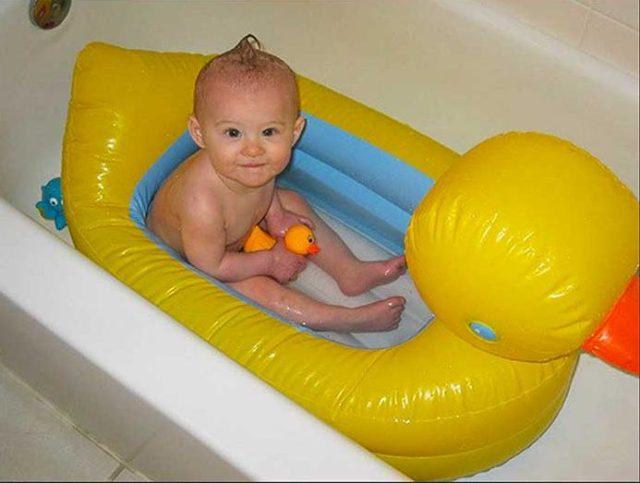 Baby Bath Rubber Duck Tub