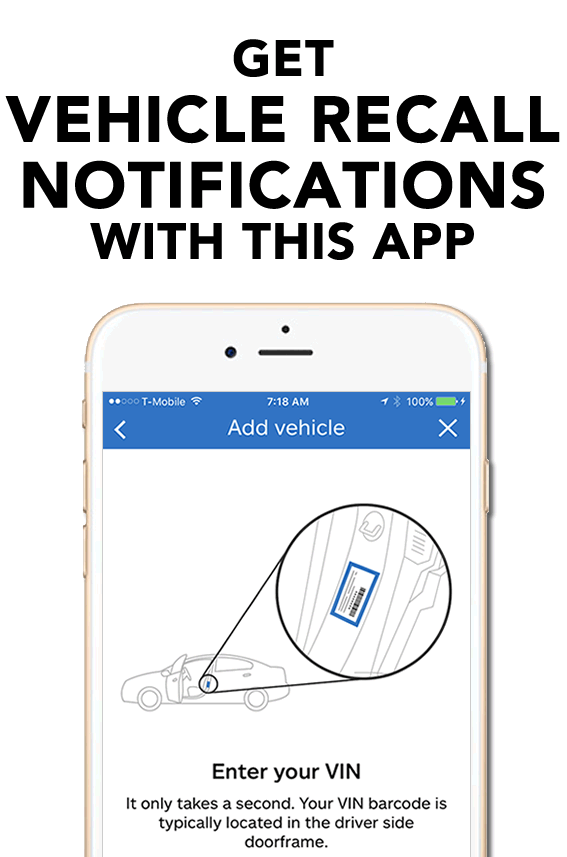 QuickTrip App - Recall Notifications