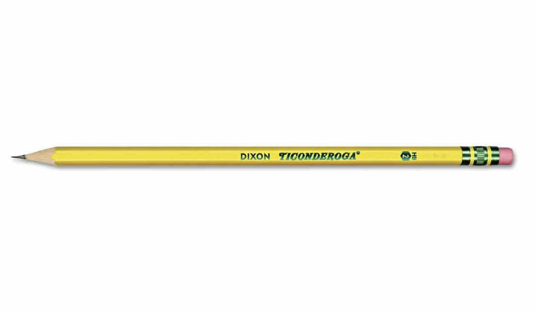 Ticonderoga Pencils – Official Pencil of Public Schools Everywhere