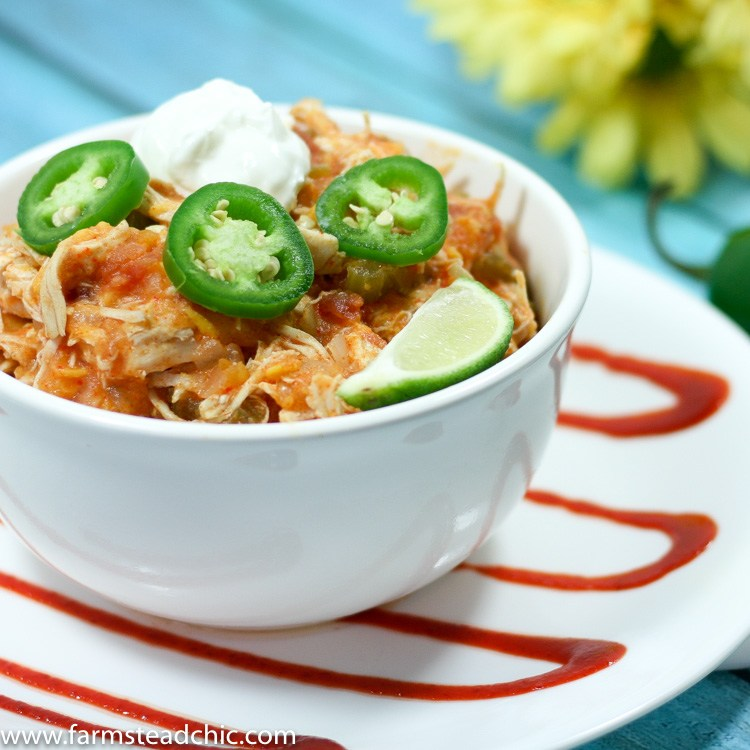 Instant Pot Buffalo Chicken Chili Recipe