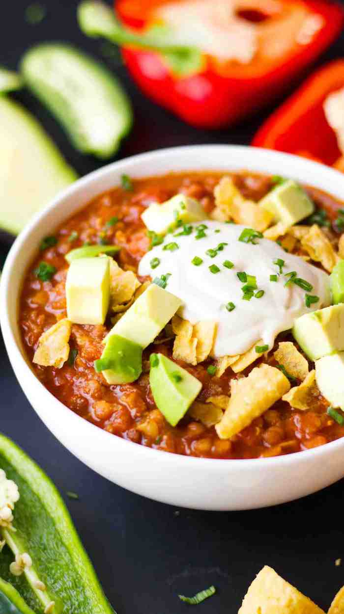 Vegan Instant Pot Chili