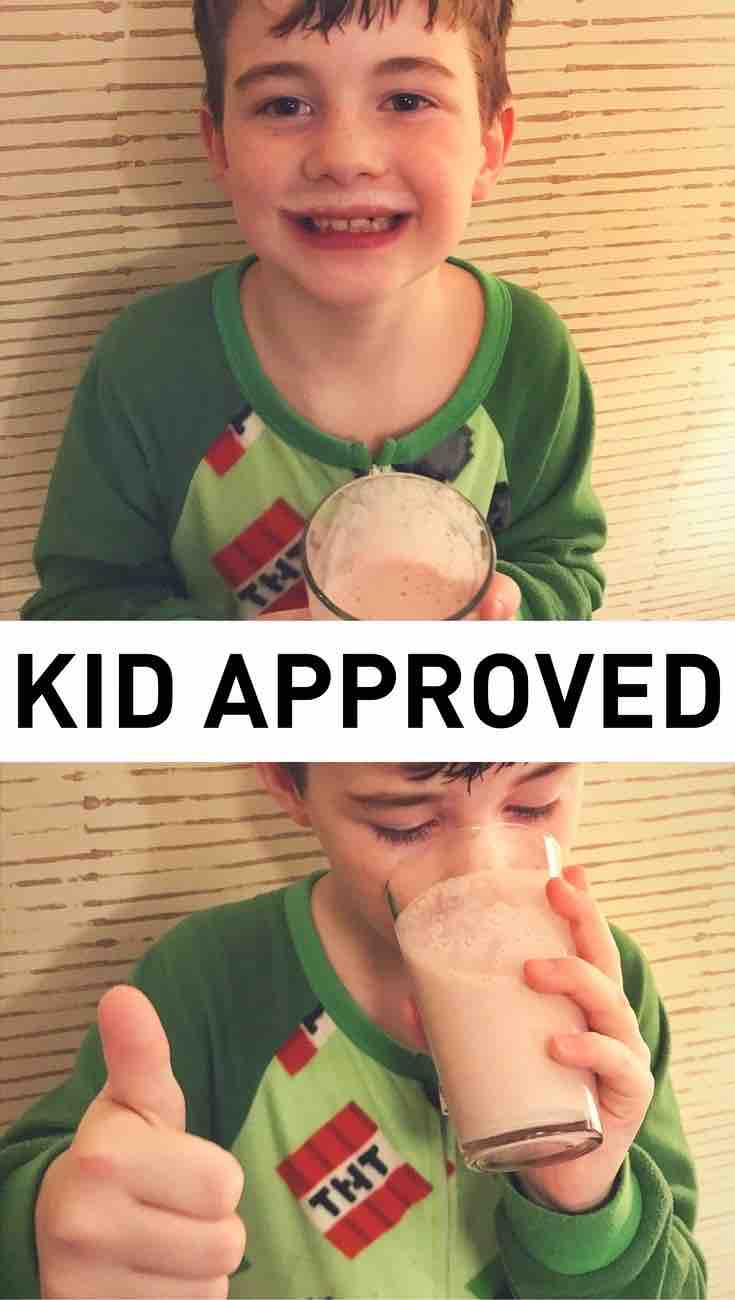 Kid approved smoothies