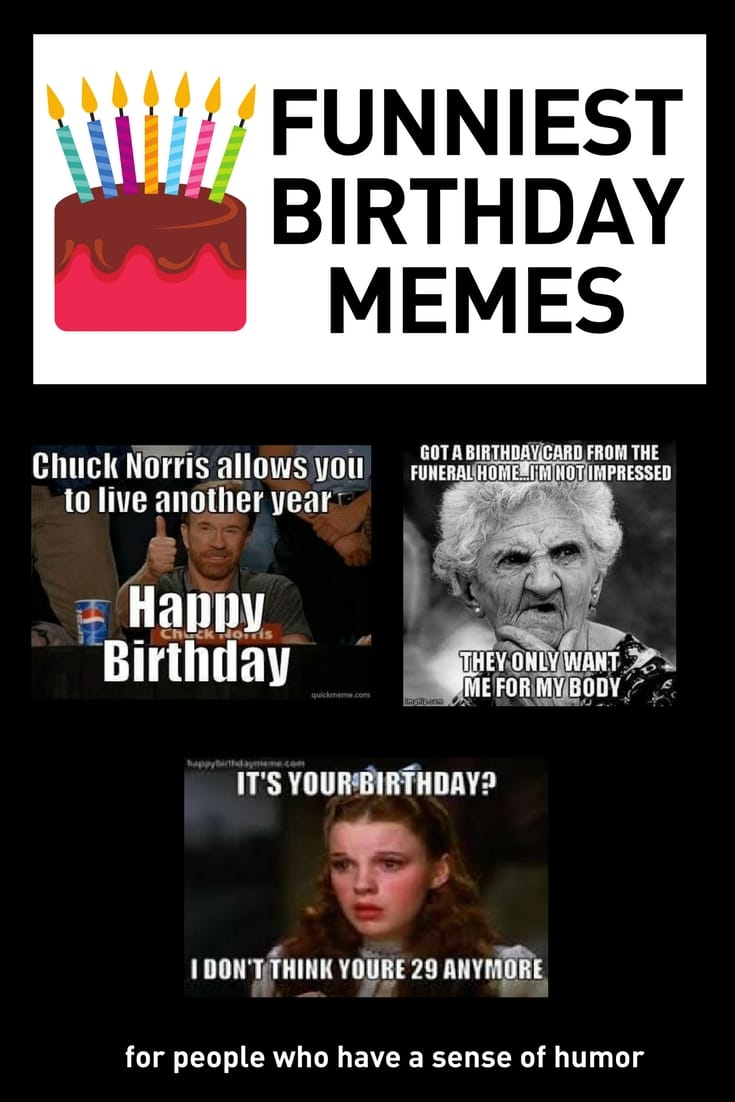 Funny Birthday Memes to share with friends