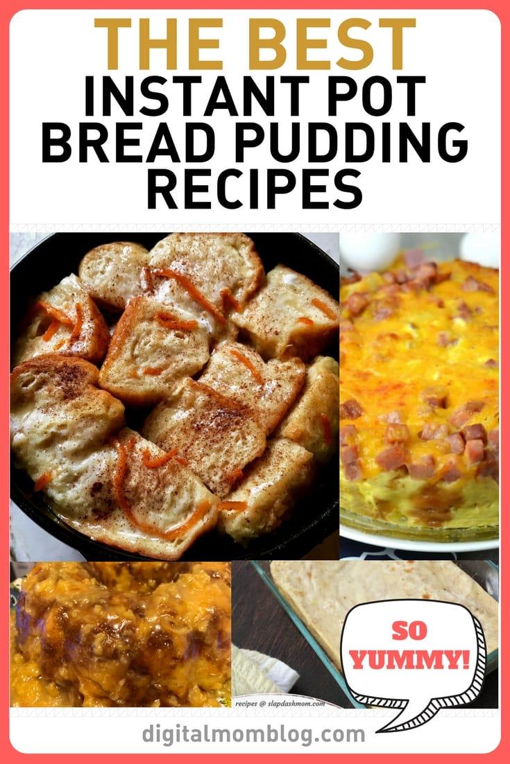 Bread Pudding Instant Pot Recipes