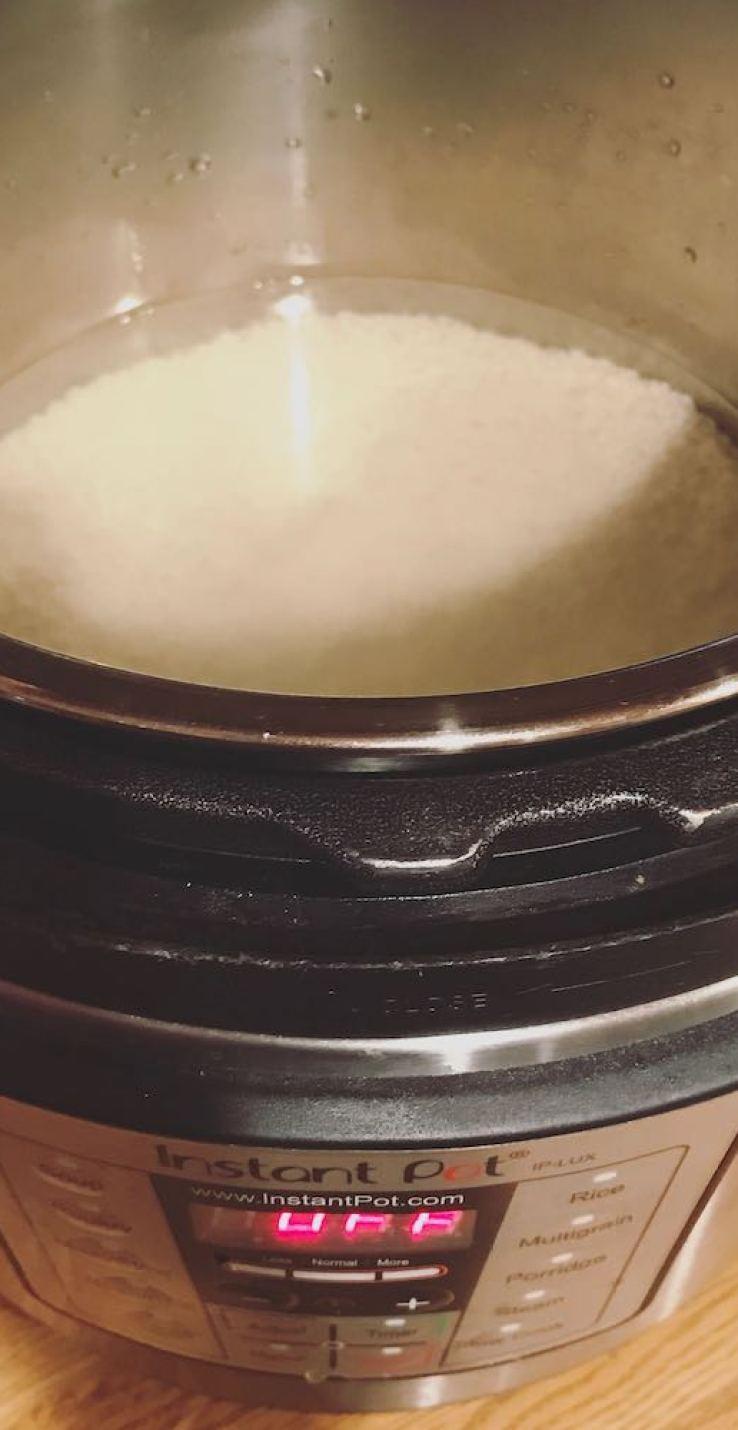 Instant Pot Steamed Rice Japanese Restaurant