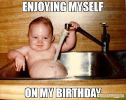 baby birthday meme