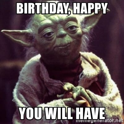 yoda birthday happy graphic