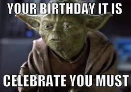 yoda birthday celebrate must
