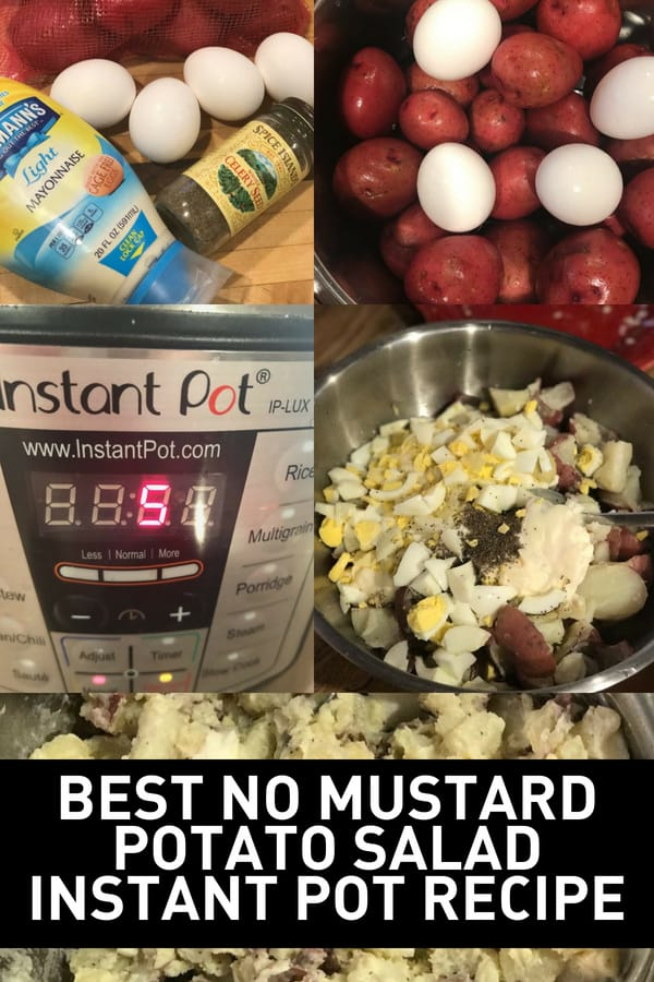 This easy potato salad Instant Pot recipe will have you making this delicious side dish in no time!
