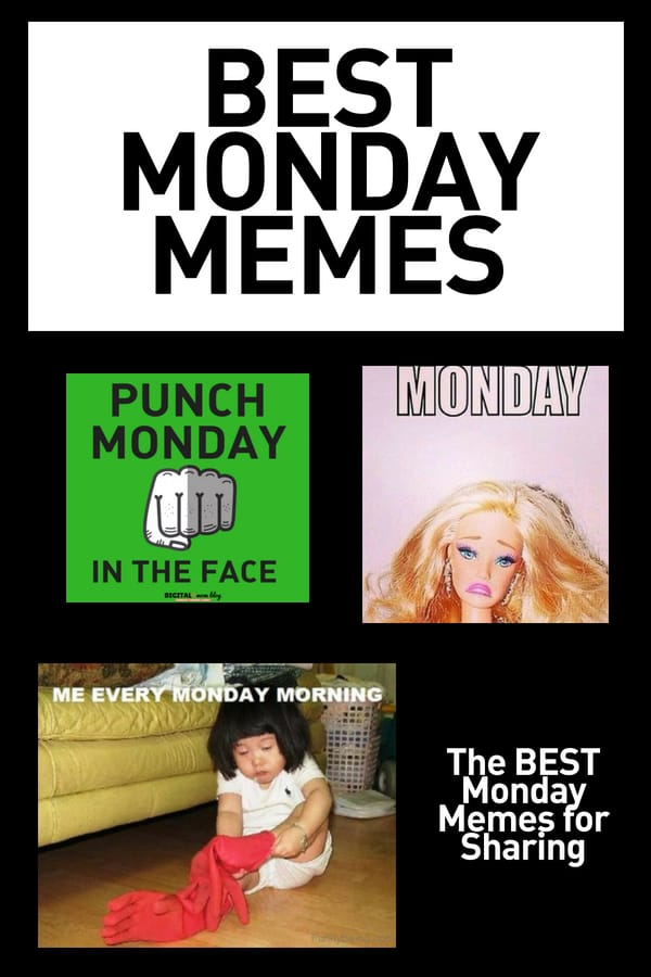 monday memes funny week start meme digitalmomblog fun cry laugh humor quotes reddit conquer funniest