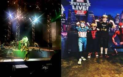 Marvel Universe Live 2018 Review – We Met Super Heroes
