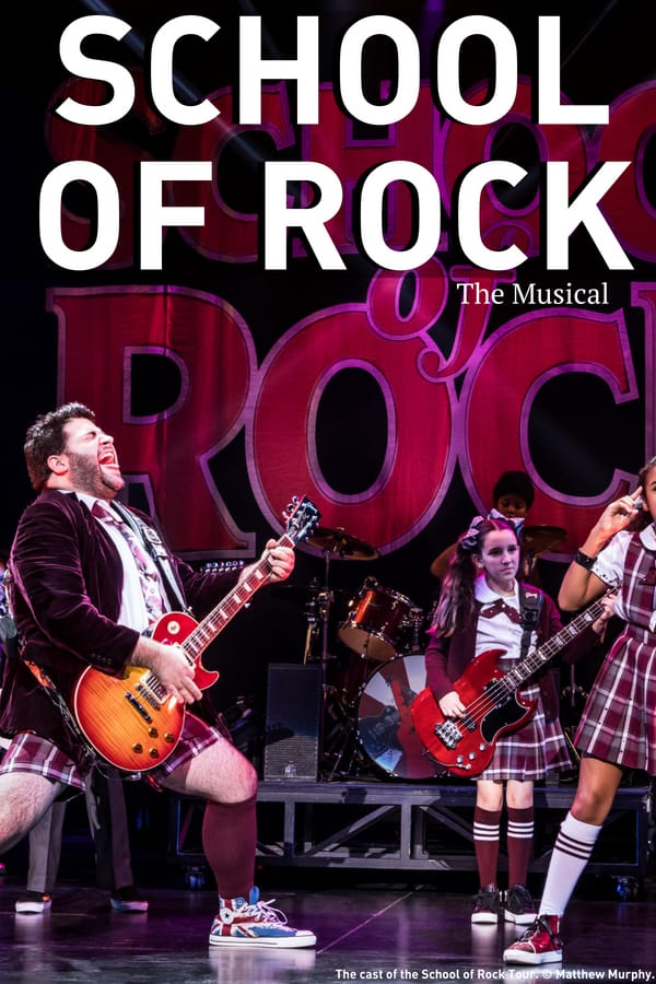 Dallas Music Hall - School of Rock The Musical 2018