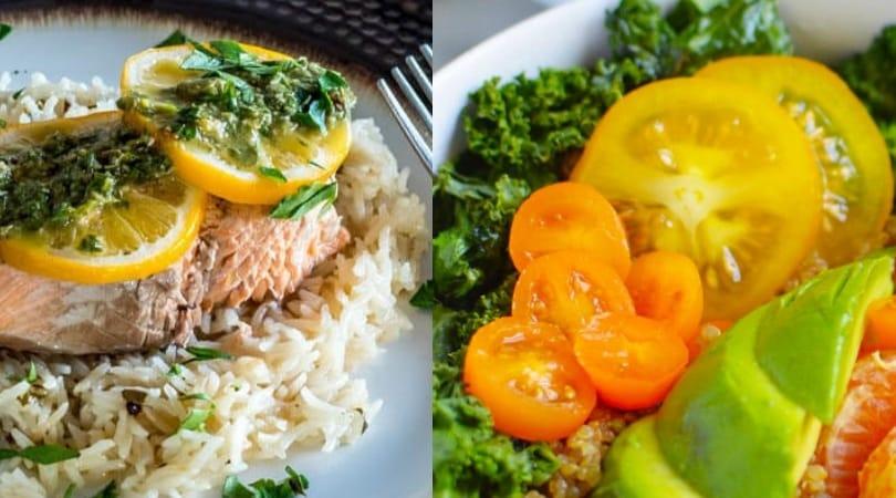 salmon quinoa bowl healthy instant pot recipes