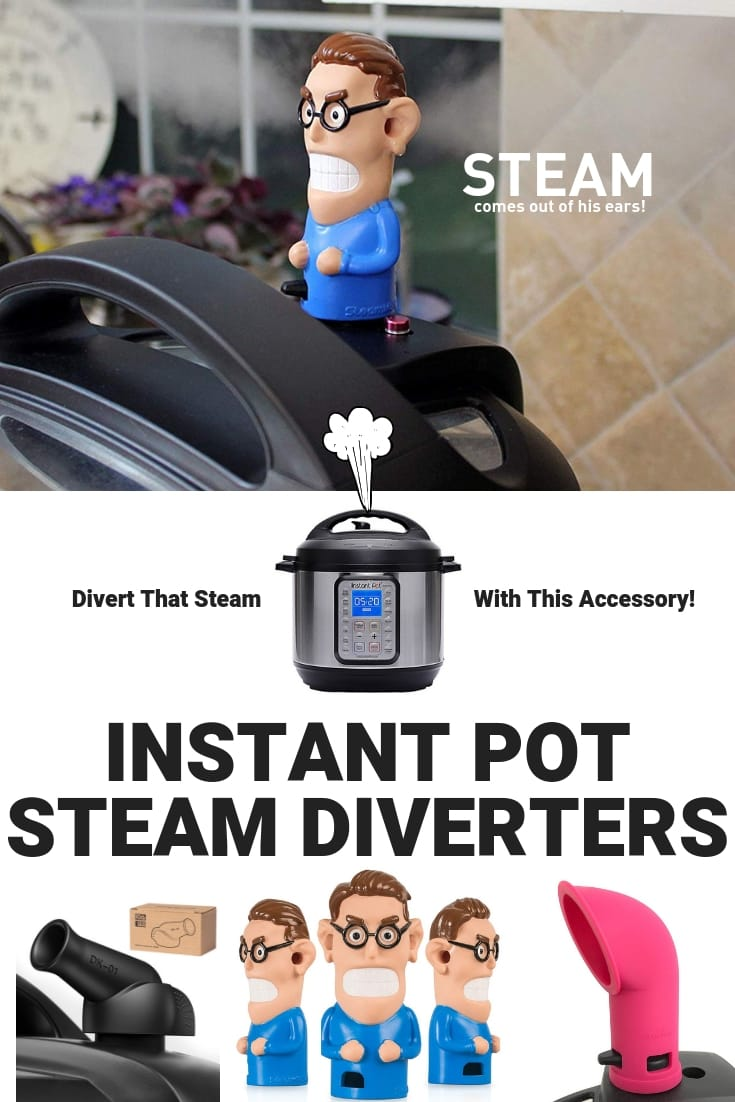 instant pot steam diverters