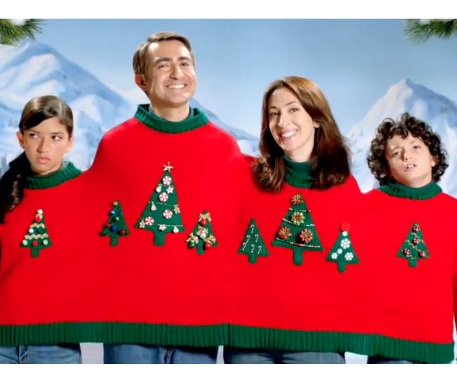 family christmas get along sweater