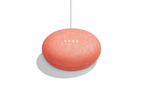 google home mini red