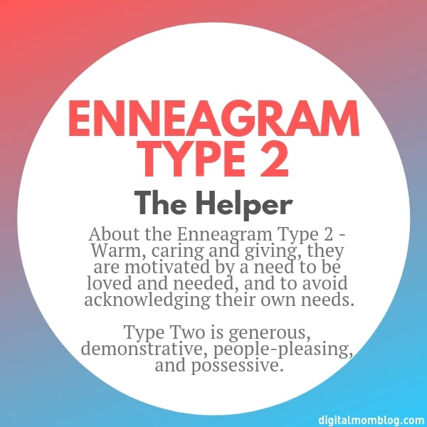 About Enneagram Type 2