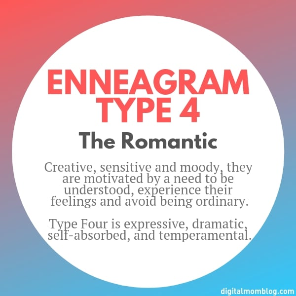 About Enneagram Type 4