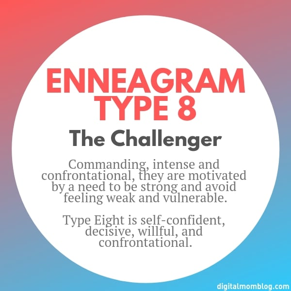 About Enneagram Type 8
