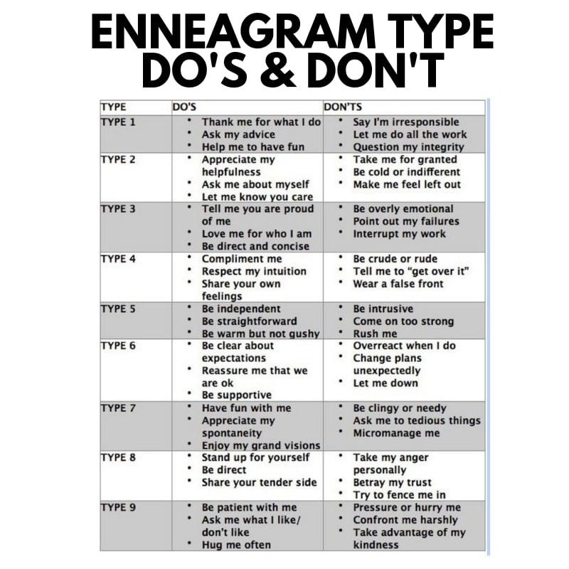 enneagram-do-dont