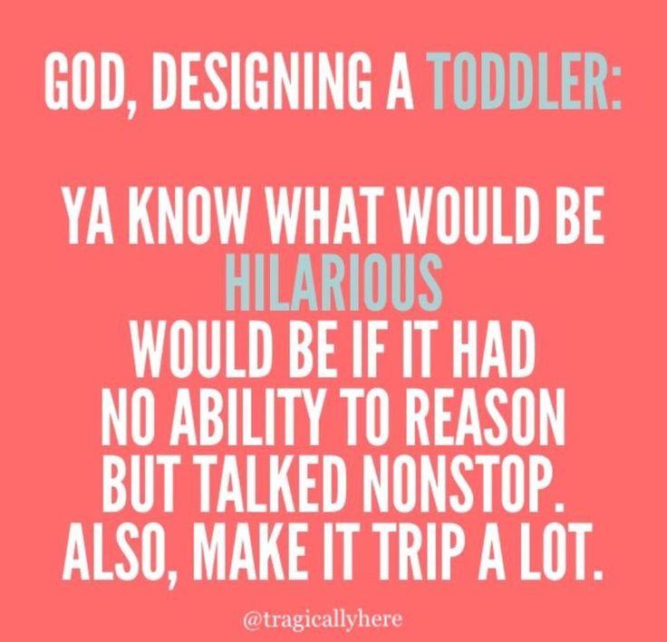 God Designing a Toddler Meme