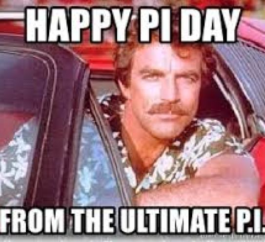 Magnum PI Celebrates Pi Day