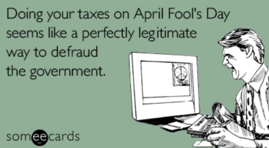 doing taxes on april 1