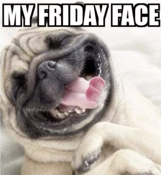 my friday face