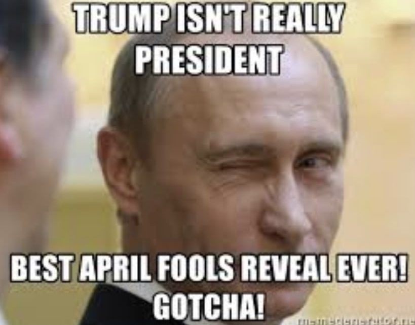 trump putin april fools meme