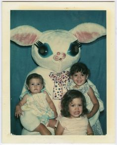 weird easter bunny costume