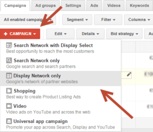 GMail oglas adwords podesavanje