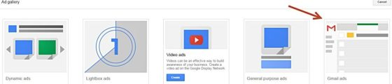 adwords display gmail oglas