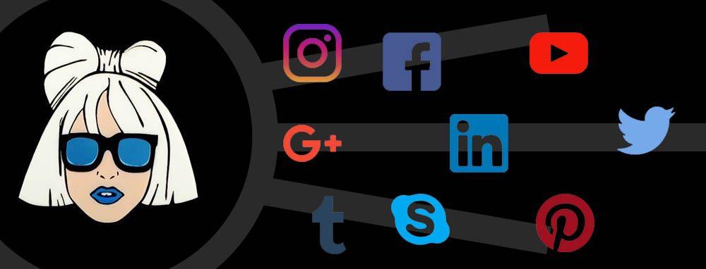 lady gaga social media tactics