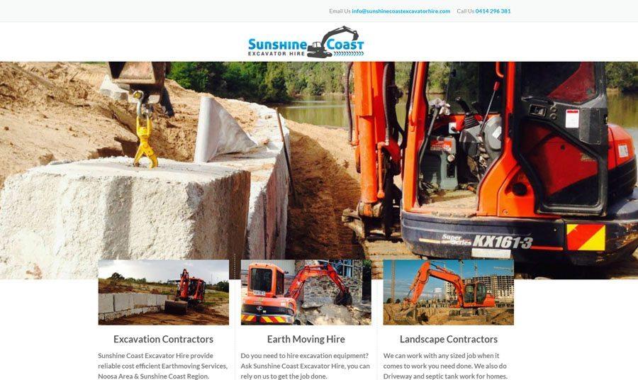 sunshinecoastexcavatorhire.com.au