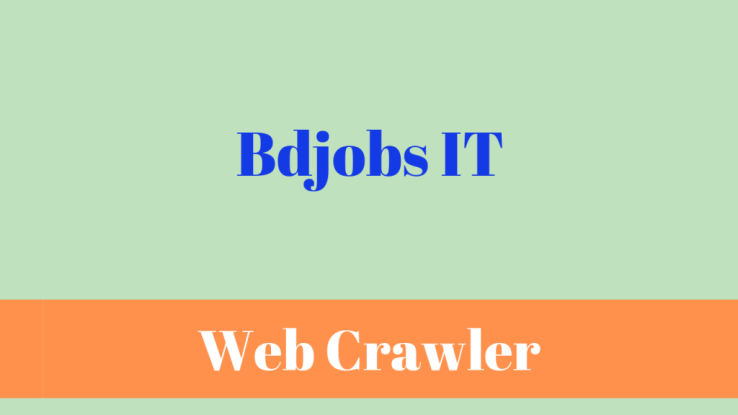 data crawler bdjobs IT
