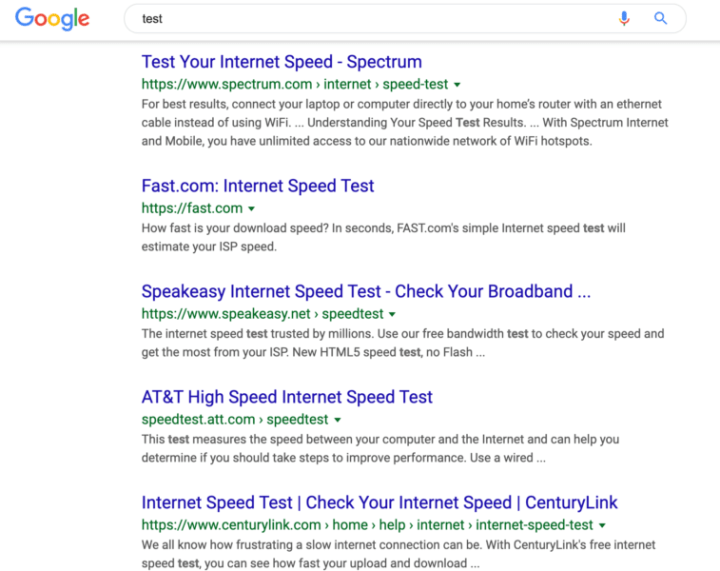 Google Snippets redesign